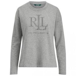 Ralph Lauren LRL French Terry Sweatshirt Women, M